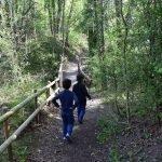 via verda ruta del ferro passeig aurons