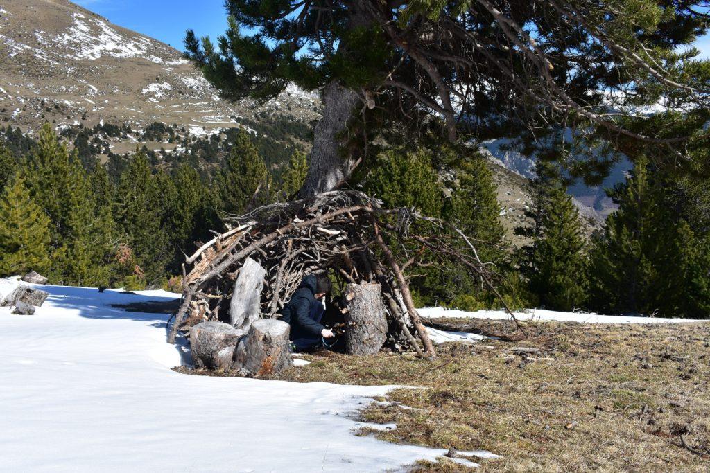 cabana collet de les barraques