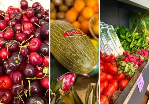 Fruites de temporada i molta qualitat