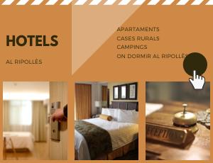 Banner d'hotels al Ripollès